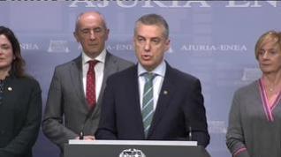 Urkullu adelanta las elecciones vascas al día 5 de abril
