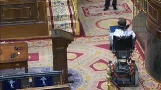 """Echenique, ante el debate de la eutanasia: """"Señorías, espero que esta vez esta Cámara esté a la altura"""""""