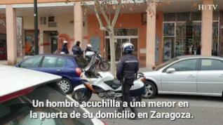 Un hombre acuchilla a una menor en la puerta de su domicilio en Zaragoza