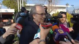 """Serrat sobre el estado de Sabina: """"Ahora hay que esperar solamente"""""""