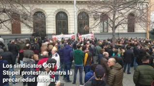 CGT y Stopel convocan tres turnos de huelga en la planta zaragozana de Opel PSA