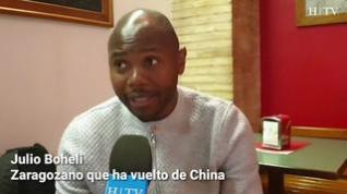 """Un zaragozano en China: """"En cada edificio hay una persona que controla cuando sales de casa"""""""