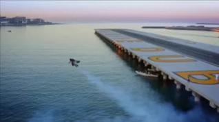 Impresionantes imágenes del primer vuelo humano autónomo en Dubai