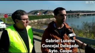 Gabriel Lucena, concejal de Caspe, habla de la siniestralidad en la A-230