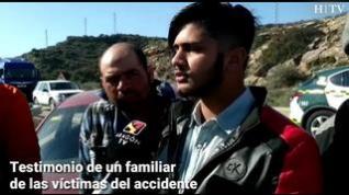 """Familiares de las víctimas del accidente: """"Estábamos trabajando cuando nos hemos enterado"""""""