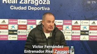 """Víctor Fernández: """"Necesitamos el aliento de nuestra afición, el de este domingo es un partidazo"""""""