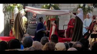 Isabel de Segura ya se ha casado y Teruel celebra el enlace