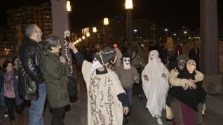 Viernes de Carnaval en Zaragoza.