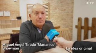 """Miguel Á. Tirado, 'Marianico': """"Es la primera vez que hago una serie y la experiencia es maravillosa"""""""
