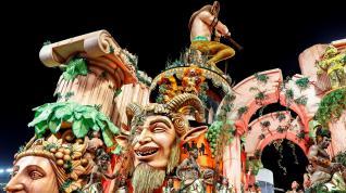 Marea de samba y color en el Carnaval de Brasil