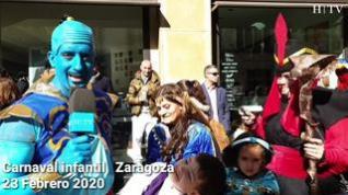 Lo mejor del Carnaval infantil de Zaragoza