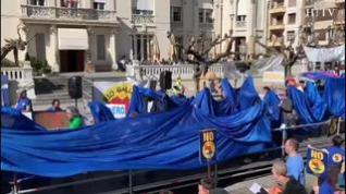Protesta contra el embalse de Biscarrués