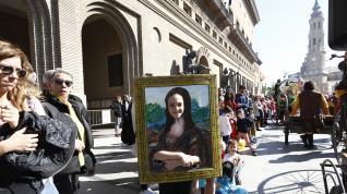 Mucho color y personajes extravagantes en el carnaval infantil de Zaragoza