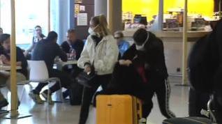 Muchos españoles regresan de Italia precipitadamente por temor al coronavirus