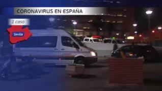 Primer contagiado local en coronavirus en Sevilla
