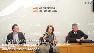 Primer caso de coronavirus en Aragón