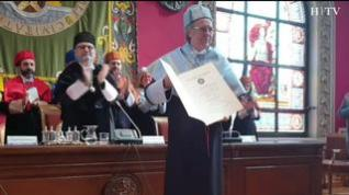 Joan Manuel Serrat, doctor honoris causa de la Universidad de Zaragoza