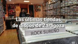 Las últimas tiendas de discos de Zaragoza