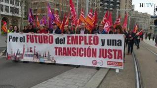 Alrededor de 300 personas se manifiestan por una transición justa para Andorra