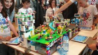 La First Lego League reúne a más de 900 escolares en Zaragoza