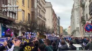 Más de 1.500 zaragocistas se preparan para tomar El Sardinero