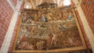 Ibdes: El retablo mayor de la iglesia de san Miguel en Ibdes es una joya patrimonial única