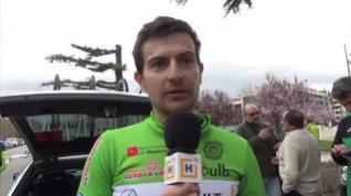 Ocho ciclistas heridos por una caída del pelotón en el Memorial Cabrero de Huesca