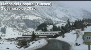 Vuelve la nieve (con fuerza) al Pirineo