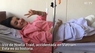 Las zaragozanas accidentadas en Vietnam vuelven a casa