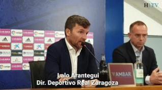 """Lalo Arantegui: """"No contemplo otro escenario que no sea con Víctor Fernández"""""""