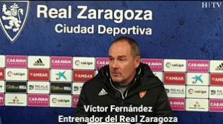 """Víctor Fernández: """"Contra el Málaga va a ser un partidazo, uno de los mejores de la Segunda División"""""""