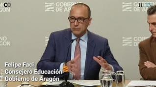 Aragón limita los actos a un aforo de 200 personas para frenar el coronavirus