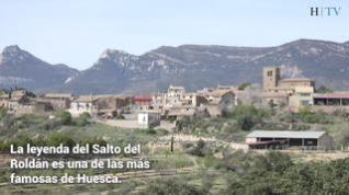 Sabayés: El Salto del Roldán es el gran atractivo natural de Sabayés