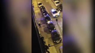 Varios detenidos en la calle de Santiago Lapuente de Zaragoza por resistencia a la Policía Local