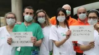 El Hospital Clínico Lozano Blesa de Zaragoza agradece el apoyo de los ciudadanos