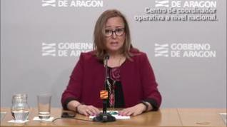 """Mayte Pérez: """"No estamos en una situación crítica ni de saturación de hospitales como en Madrid"""""""