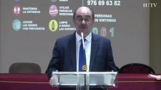Los afectados por coronavirus en Aragón alcanzan los 207 casos y ya son 12 los fallecidos