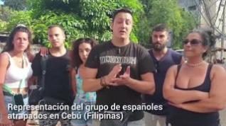 """Españoles en Filipinas: """"Tememos que cierre el aeropuerto de Cebú"""""""