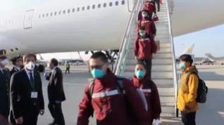 China envía a Italia un segundo equipo médico con doctores expertos en la lucha contra el coronavirus