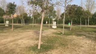 El Camping de Zaragoza se queda vacío por el coronavirus