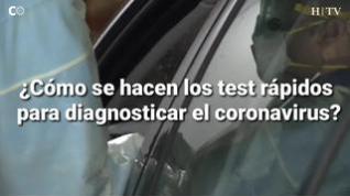 ¿Cómo se hacen los test rápidos de coronavirus?
