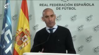"""Rubiales: """"Se terminará la temporada como estaba prevista"""""""