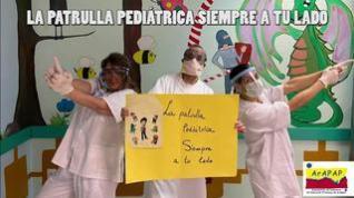 Los pediatras de Zaragoza se unen en un vídeo para dar consejos a los niños