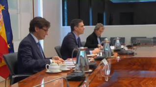 Sánchez preside la reunión del Comité Científico del coronavirus