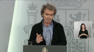 """Fernando Simón asegura que """"estamos llegando al pico de la curva"""""""