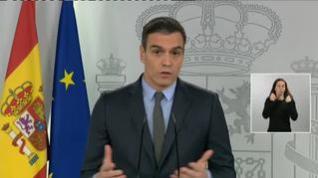 Sánchez reclama a la UE que esté a la altura de las circunstancias para frenar al COVID-19