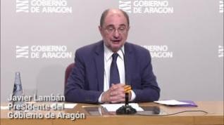 Lambán reclama a Sánchez nuevas medidas para las empresas y más plazo antes del cierre industrial