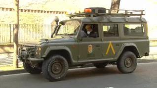 Las Fuerzas Armadas continúan con las labores de apoyo y desinfección