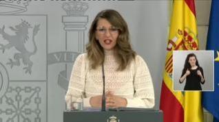 """Yolanda Díaz: """"Necesitamos la restricción de movilidad de un domingo"""""""