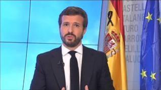 Casado amenaza con votar en contra de los nuevos decretos del Gobierno sobre el COVID-19